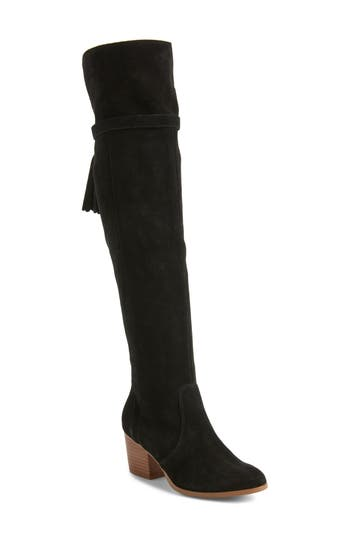 Sole Society Erika Over The Knee Boot, Black