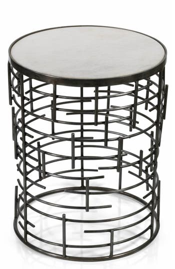 Zodax Barcelona Side Table, Size One Size - White