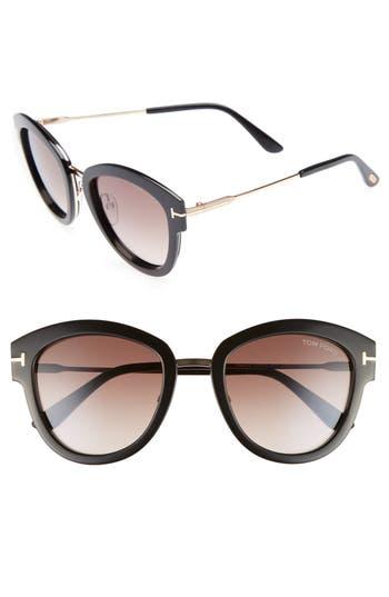 Tom Ford Mia 55mm Cat Eye Sunglasses