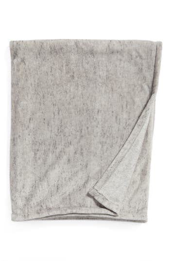 Nordstrom At Home Heathered Throw, Size One Size - Grey