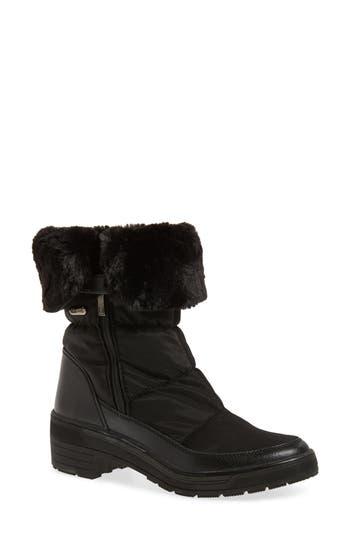 Pajar Ventura Weatherproof Faux Fur Lined Boot, Black