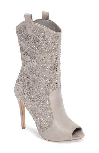 Lauren Lorraine Layla Embellished Boot- Grey