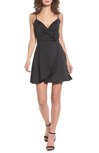 Devlin Betsey Fit & Flare Dress, Black