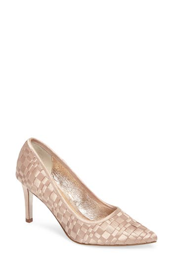 Adrianna Papell Hasting Pointy Toe Pump- White