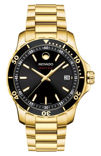 Movado Series 800 Bracelet Watch, 40mm