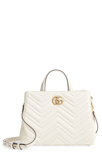 Gucci Gg Small Marmont 2.0 Matelasse Leather Top Handle Satchel - at NORDSTROM.com