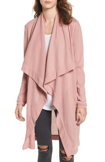 4si3nna female womens 4si3nna open front cardigan size xsmall pink
