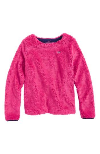 Girls Vineyard Vines Fuzzy Sweatshirt