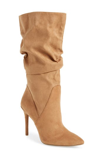 Jessica Simpson Lyndy Slouch Boot, Brown