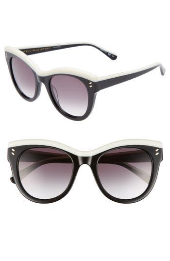 Stella Mccartney 51Mm Cat Eye Sunglasses - Black