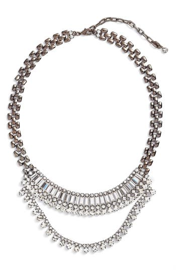 Women's Cristabelle Multistone Frontal Necklace