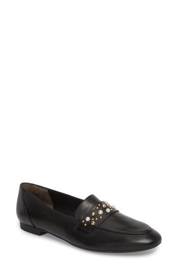 Women's Paul Green Sophie Embellished Loafer, Size 10.5US / 8UK - Black