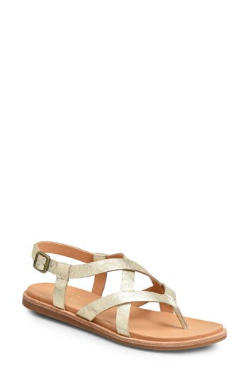 Kork-Ease Yarbrough Sandal, Metallic
