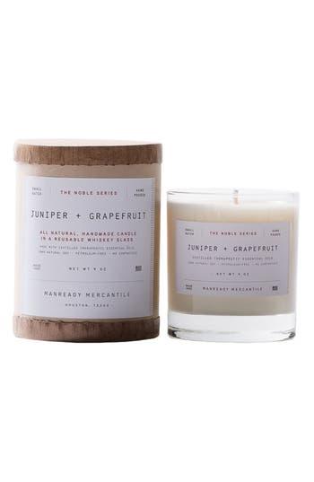 Manready Mercantile Noble Series Soy Candle, Size One Size - Ivory