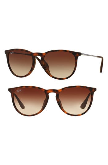 Ray-Ban Erika 5m Sunglasses - Tortoise/ Silver