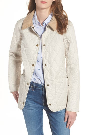 Barbour Spring Annandale Quilted Jacket, Beige