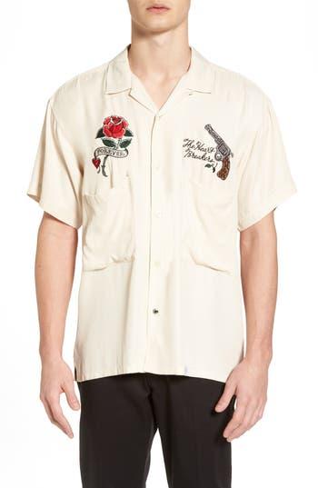 Men's Bedwin & The Heartbreakers Souvenir Shirt, Size 1 - Ivory