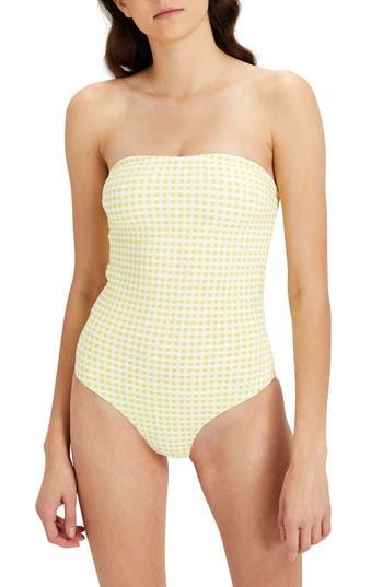 Onia Estelle Convertible One-Piece Swimsuit, Orange