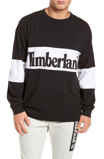 Timberland Logo Graphic T-Shirt, Black
