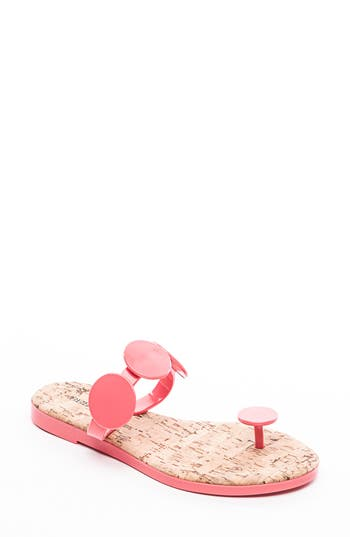 Bernardo Footwear New Moon Flip Flop, Pink