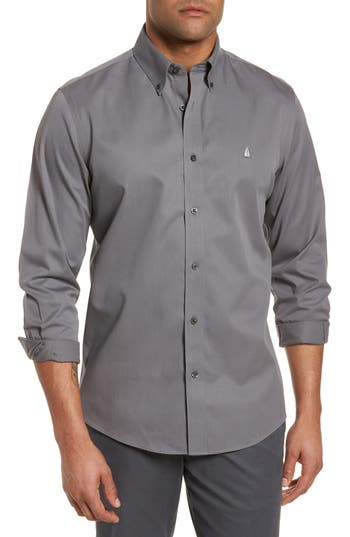 Nordstrom Men's Shop Smartcare™ Traditional Fit Twill Boat Shirt