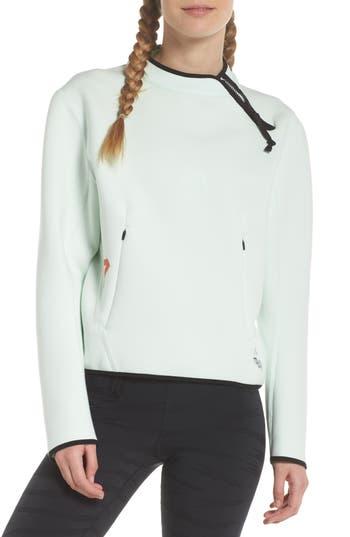 Women's Nike Nikelab Acg Fleece Women's Crewneck Top, Size X-Small - Green