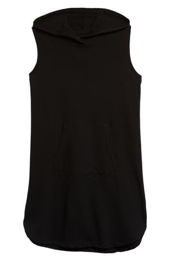 Girls Zella Girl Hooded Terry Dress