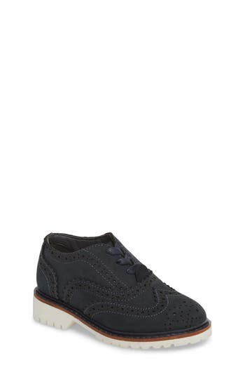 Boys Kenneth Cole New York Wingtip Oxford Size 4 M  Blue