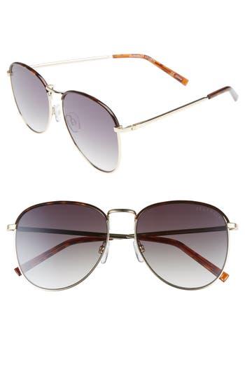 Women's Seafolly Clovelly 56Mm Metal Sunglasses - Dark Tort