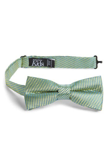 Boys Nordstrom Digital Print Silk Bow Tie Size Big Boy  Yellow