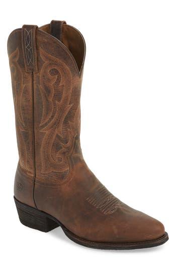 Ariat Circuit Tall Cowboy Boot, Brown