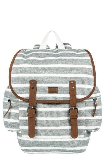 Roxy Free For Sun Fleece Backpack - Grey