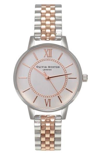 Olivia Burton Wonderland Bracelet Watch, 30mm