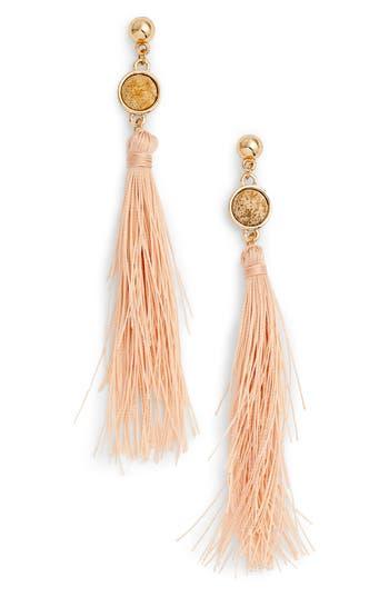 Uncommon James by Kristin Cavallari Strawberry Fields Jasper Tassel Earrings