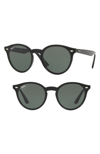 Ray-Ban Blaze 37mm Round Sunglasses