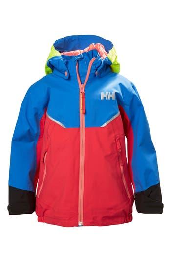 Boys Helly Hansen Shelter Waterproof  Windproof Hooded Jacket