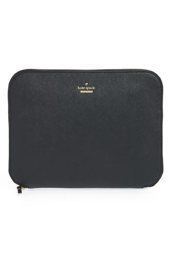 kate spade new york saffiano leather organization tablet sleeve