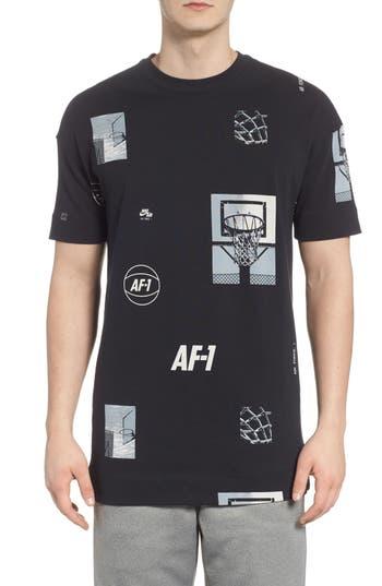 Nike Sportswear Af-1 Oversize T-Shirt, Black