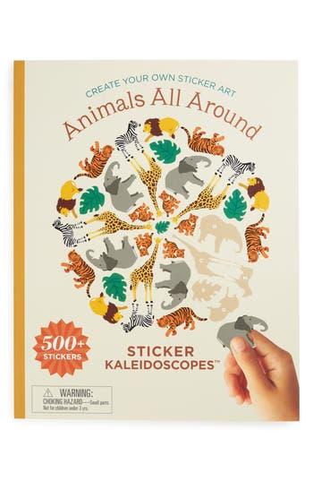 Mrs Grossmans Animals All Around Kaleidoscopes Sticker Book