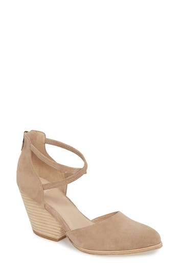 Eileen Fisher Tilda Stacked Heel Pump