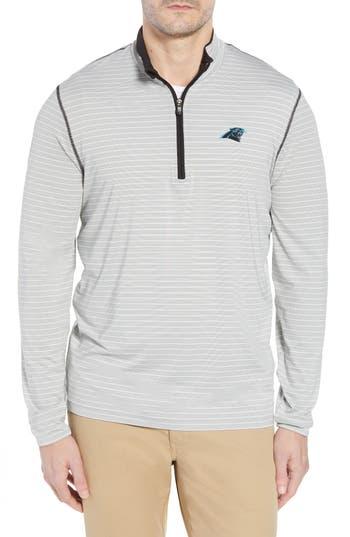 Cutter & Buck Carolina Panthers - Meridian Half Zip Pullover