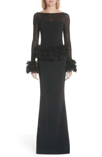 Chiara Boni La Petite Robe Bibina Trumpet Gown