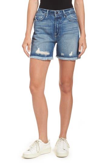 High Waist Cutoff Denim Shorts