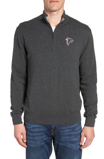 Cutter & Buck Atlanta Falcons - Lakemont Regular Fit Quarter Zip Sweater