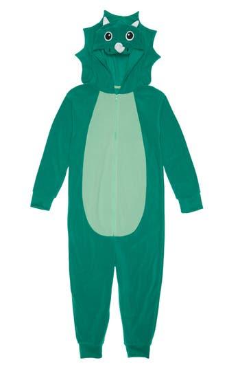 Boys Tucker  Tate Animal OnePiece Hooded Pajamas