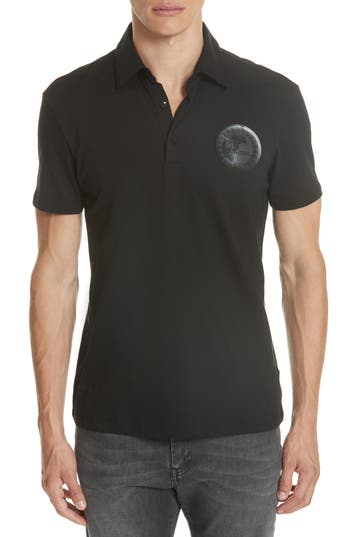 VERSACE CREST JERSEY POLO