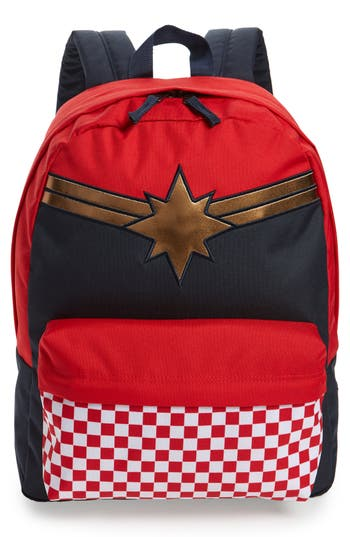 Boys Vans X Marvel Captain Marvel Realm Backpack