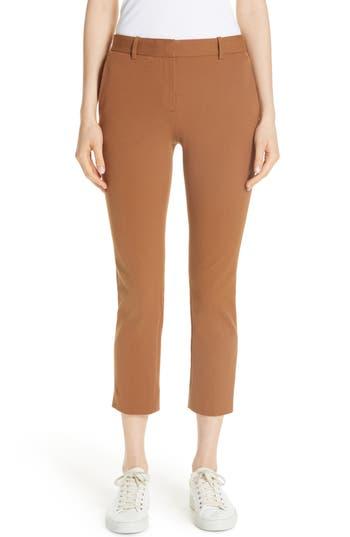 Theory Treeca Stretch Cotton Pants