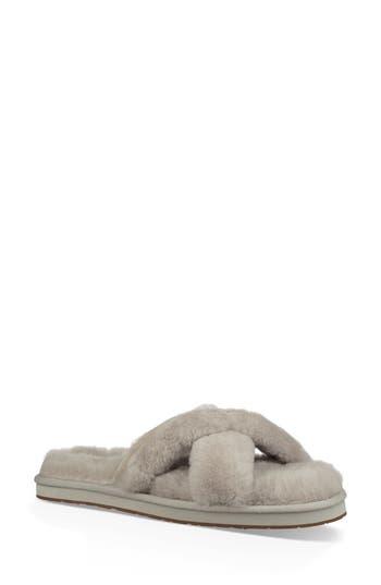UGG® Abela Genuine Shearling Flip Flop
