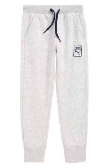 Boys Puma Fleece Jogger Pants